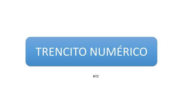 Tren numérico