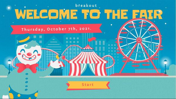 Welcome to the fair!