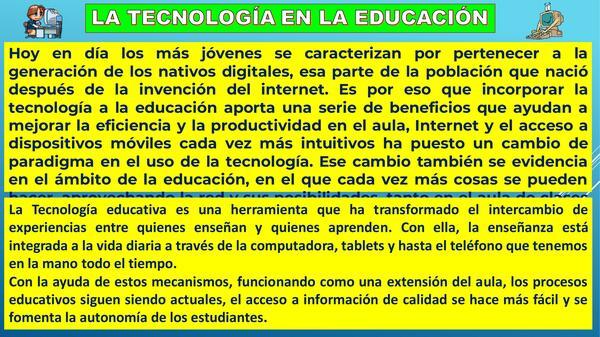 EL PAPEL DE LA TECNOLOGIA EN LA SOCIEDAD