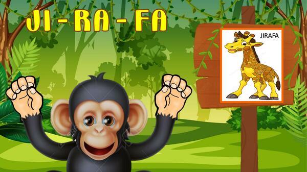Mono cuenta sílabas