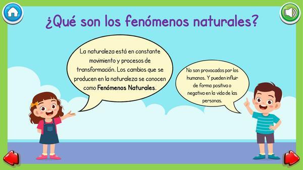 PowerPoint Interactivo: Fenómenos y Desastres Naturales