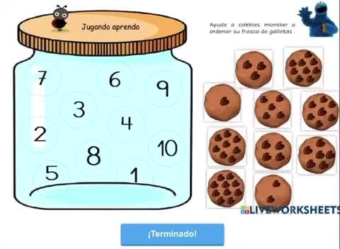 Ordenando galletas