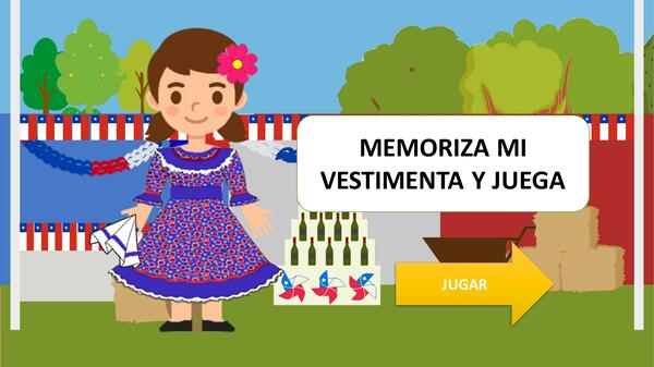 Mini juego: Viste a la chinita