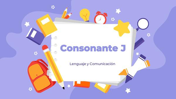Consonante J