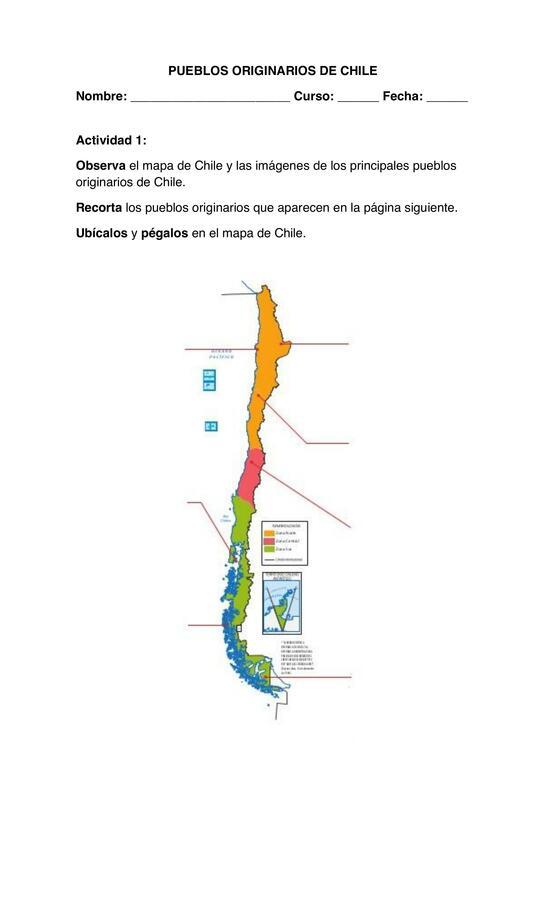 GUIA 2 LOS PUEBLOS ORIGINARIOS DE CHILE, SEGUNDO BASICO, HISTORIA