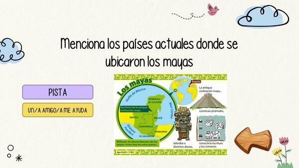 PPT CLASE FULL ECONOMÍA MAYA - EDITABLE