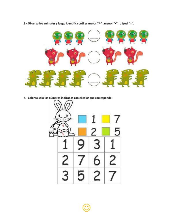 Guía matemática hasta el 10