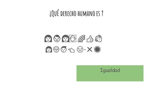 Derechos Humanos en Emojis