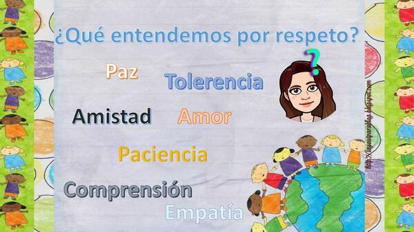 """Taller """"respeto"""" 5° básico"""