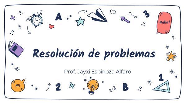 Resolución de problemas paso a paso