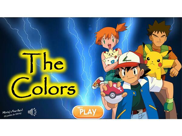 GAME OF COLORS (Los colores en Inglés)