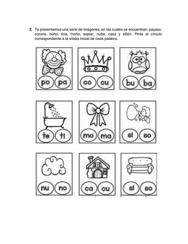 Actividades de conciencia fonológica y conciencia fonética