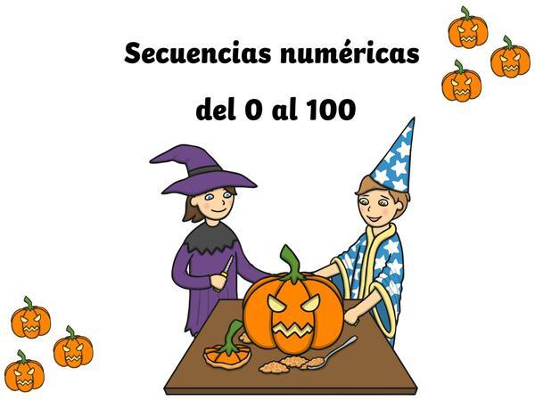 Hallowen, Secuencias numericas