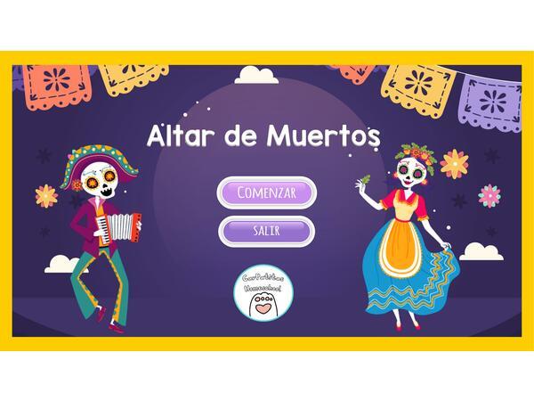 Altar de Muertos PowerPoint Interactivo | Día de Muertos