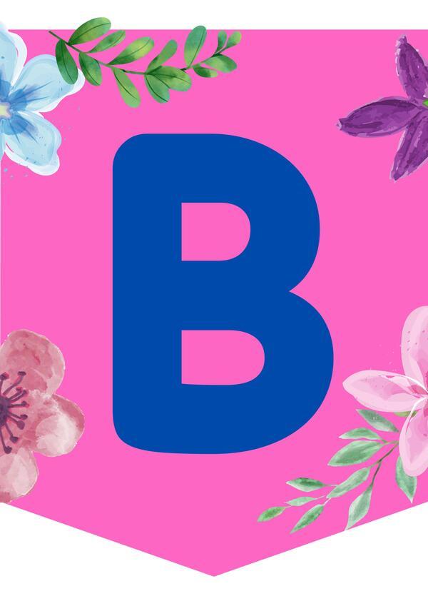 """Banderines para la Sala """"Bienvenida Primavera"""" (2)"""