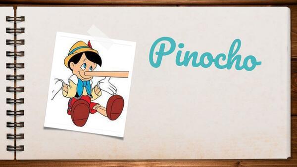 """Cuento """"Pinocho"""" Comprensión lectora"""