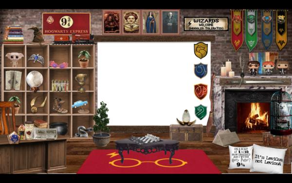 Aula virtual de Harry Potter