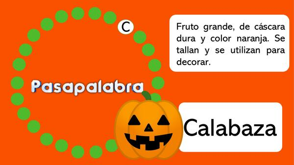 Pasapalabra Halloween