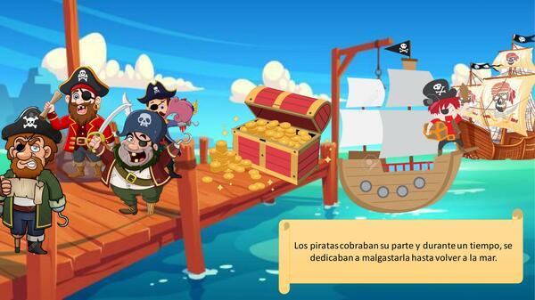 Cuento la pirata novata