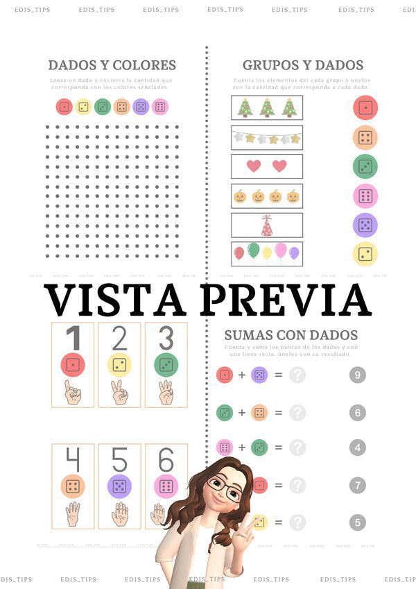CUADERNILLO DE ACTIVIDADES - DADOS LOCOS