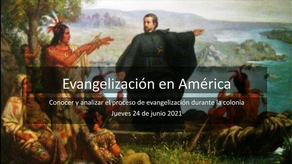 Evangelización en América