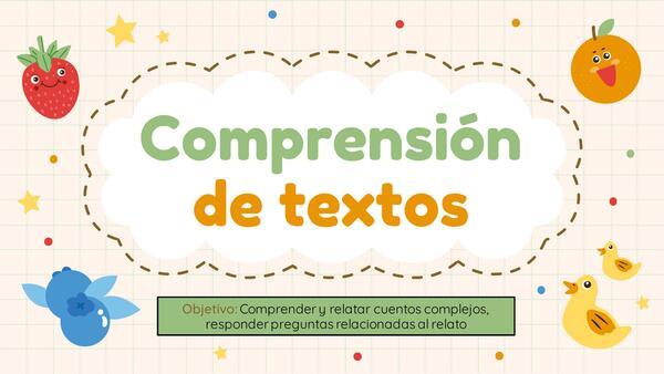 Comprensión de textos : El principito