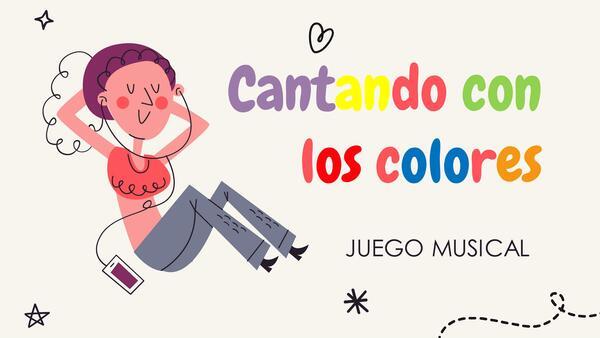 CANTANDO CON LOS COLORES