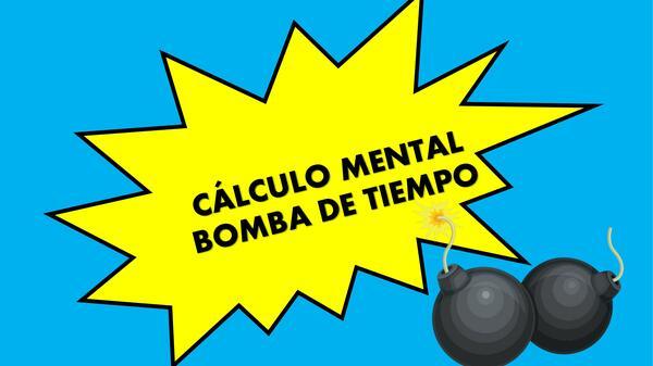 Cálculo mental usando bomba de tiempo