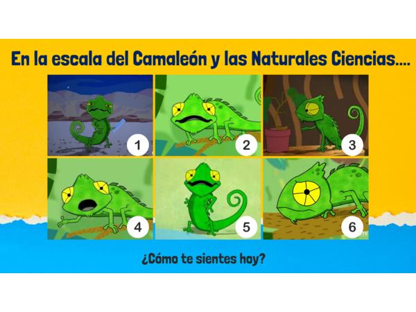 Escala Camaleón y las Naturales Ciencias