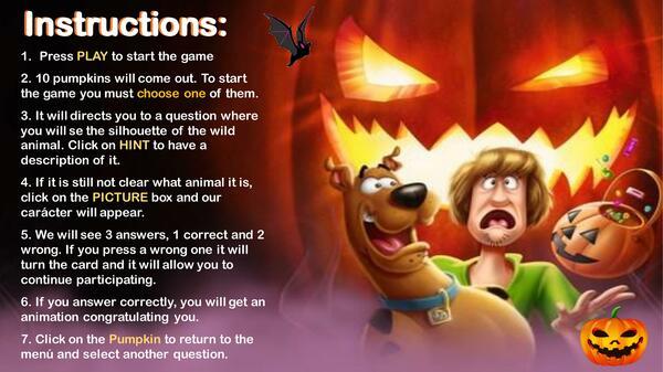 Farm Animals Riddles Halloween (Scobby doo)