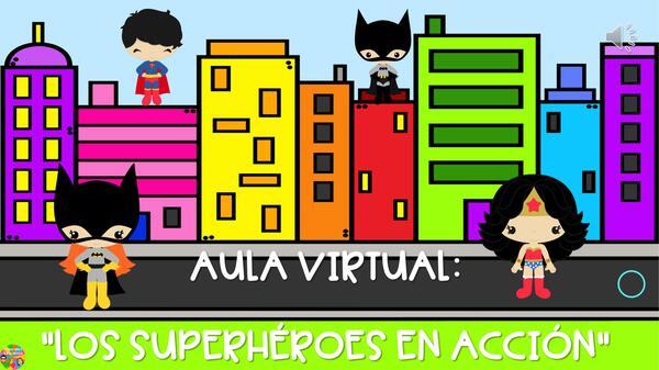 """Ruleta de Activación """"Los super héroes"""""""