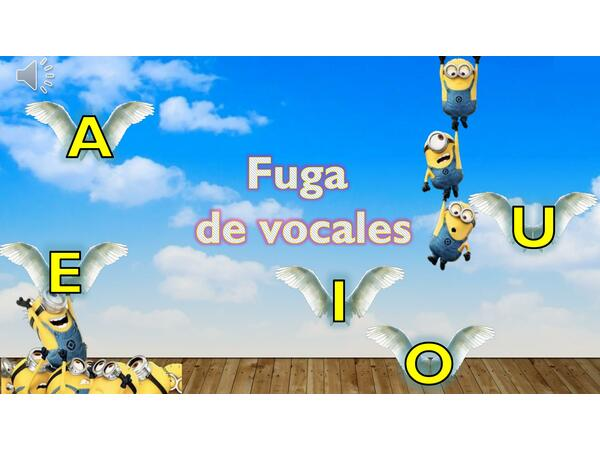 Ppt Fuga de Vocales