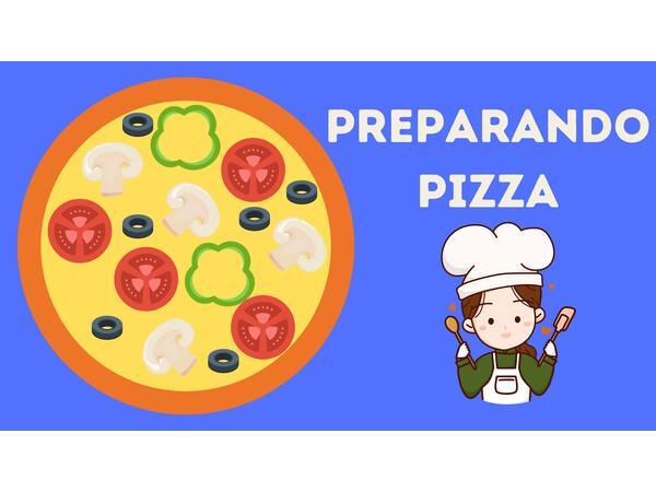 Preparando pizza