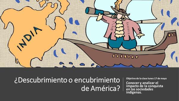 ¿Descubrimiento o encubrimiento de américa?