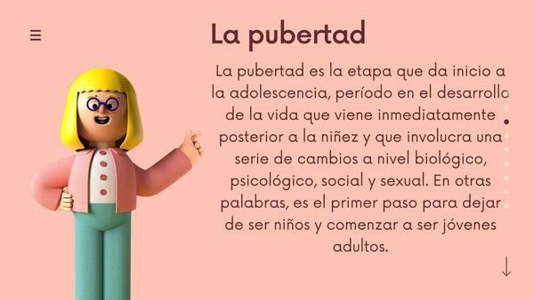 Pubertad y adolescencia 7mo y 8vo