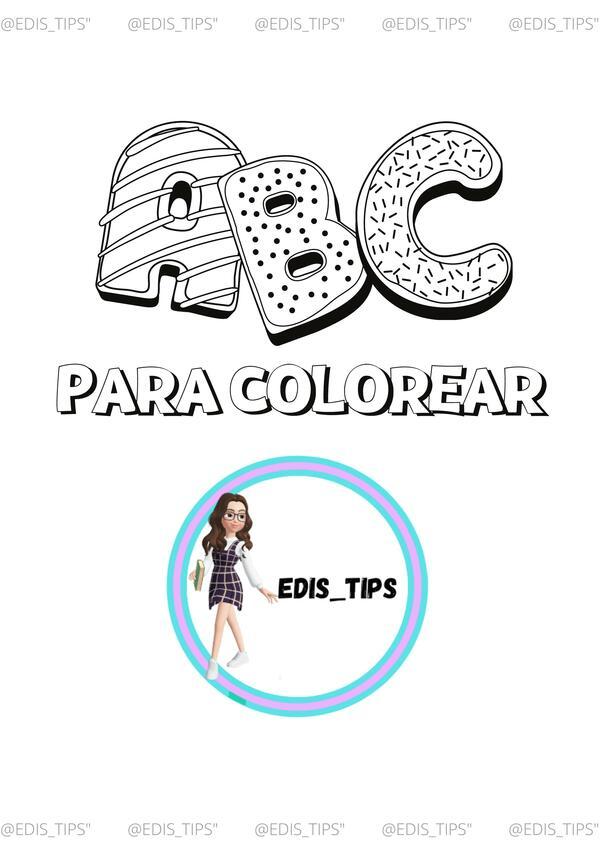ABC PARA COLOREAR