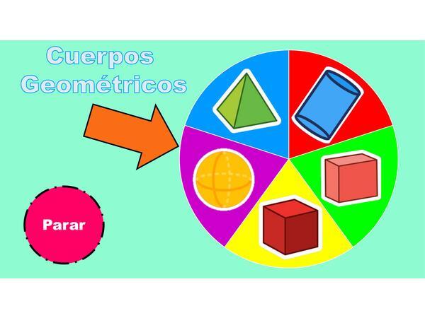Ruleta de cuerpos geométricos