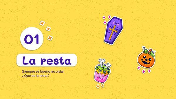 RESTA TEMATICA DE HALLOWEEN