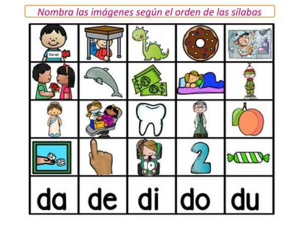 Aprendamos el sonido de la letra D