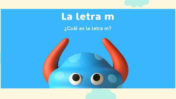 """Grafema y fonema de la letra """"Mm"""""""