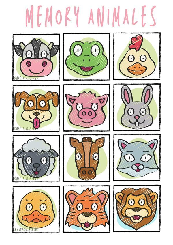 Memo animales