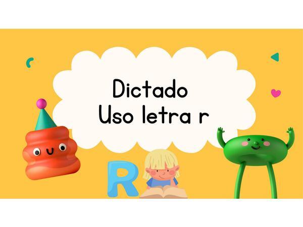 Dictado Interactivo consonante R