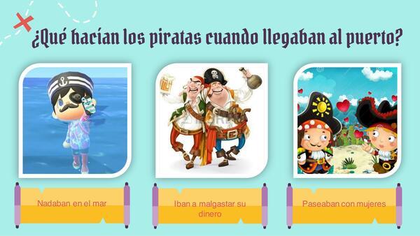 Comprensión lectora la pirata novata
