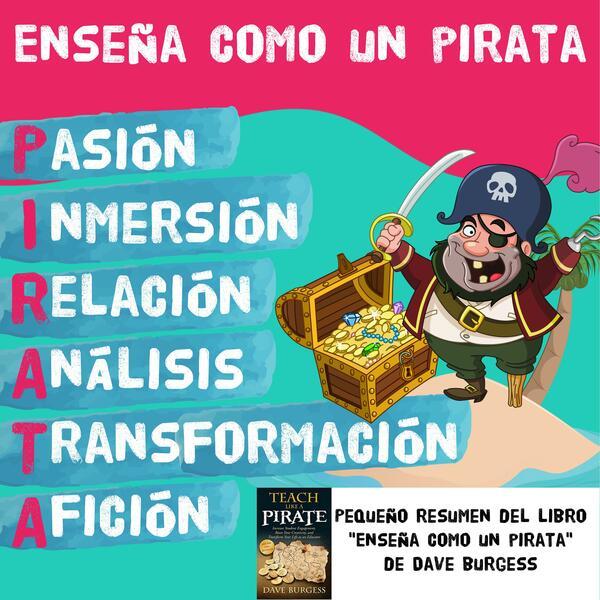Enseña como un pirata 🏴☠️