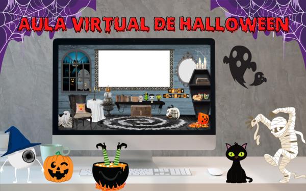 Aula virtual de Halloween 🎃