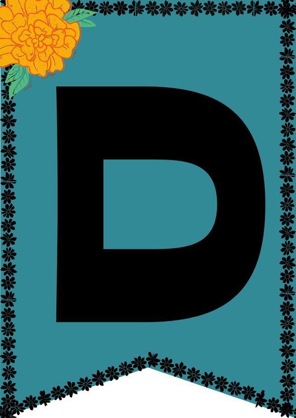 """Banderines """"Día de los muertos"""""""