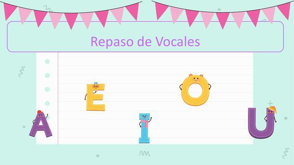 sonido inicial vocales