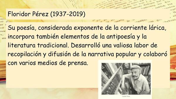 Biografía Floridor Pérez