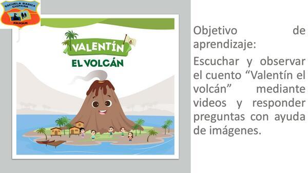 Valentín el volcan