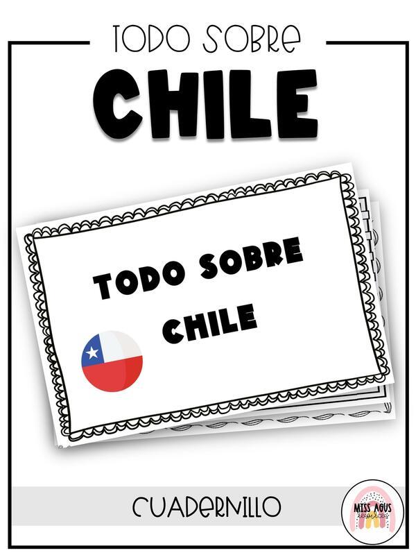 Cuadernillo para investigar los elementos que componen Chile
